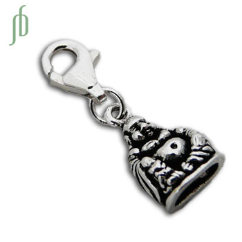 Laughing Happy Buddha Statue Charm