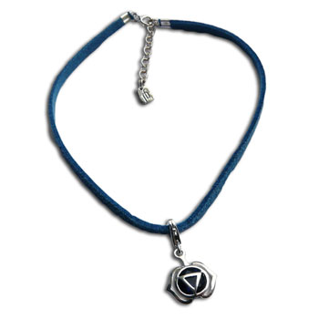 Forehead Chakra Anklet Blue 9-10