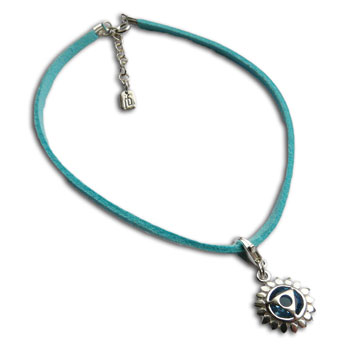 Throat Chakra Anklet Turquoise Adjustable 9-10