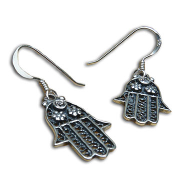 Hamsa Protection Earrings