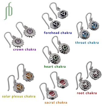Good Vibes Chakra Earrings Set/7
