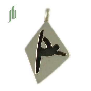 Dance Tag: Lord of the Dance Pose Pendant
