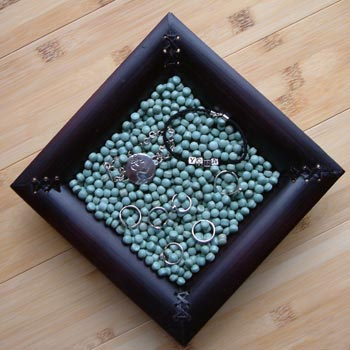 Bamboo Display Tray for Jewellery